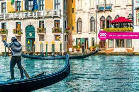 Weekender Breaks - Two or three night 4 Star Venice stay with breakfast and return flights - Save 42%