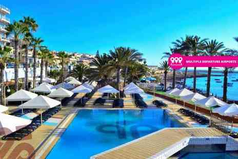 Bargain Late Holidays - Three or five night 4 star all inclusive Malta spa break with return flight - Save 44%