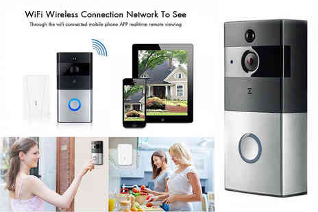 TY Direct - Smart Wi Fi enabled remote video doorbell - Save 41%
