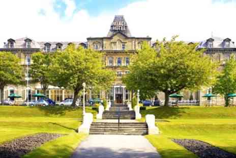 Palace Hotel Buxton - One or Two Nights Stay for Two with Breakfast, Bottle of Wine and Option for Dinner - Save 0%