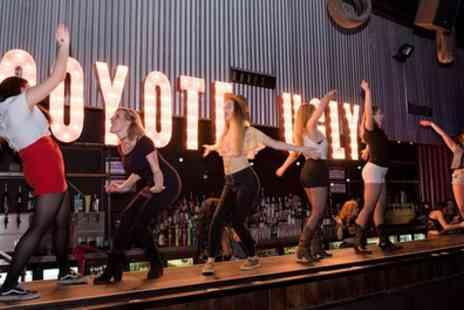 Coyote Ugly - Burger or Hot Dog with Chips, Coleslaw and Drink for Up to Four - Save 33%
