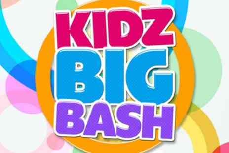 Kidz Big Bash - Two general admission tickets to Kidz Big Bash on 28 May - Save 50%