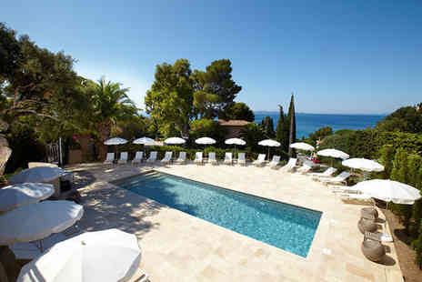 Les Terrasses du Bailli - Intimate Hotel on the French Riviera for two - Save 39%