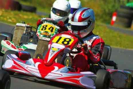 Billing Go Karts - 30 Minute Karting Session for Up to Six - Save 50%