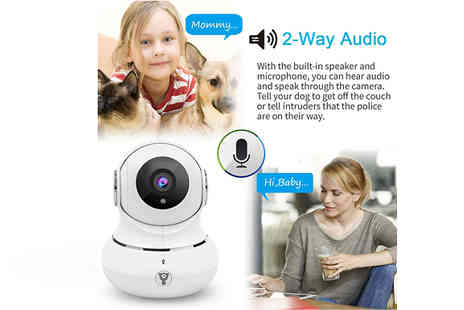 Playtech - 360 Degree HD WiFi Camera for iPhone or Android - Save 55%