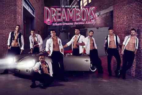 Entertainers Management - Rear balcony standing ticket to see the Dreamboys Indigo - Save 30%