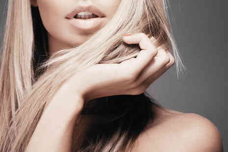 Desirees Studio - Wash, cut, blow dry, treatment, & full head of highlights - Save 63%