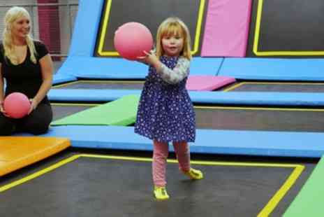 i-Bounce - Parent and Toddler Entry to i Bounce Trampoline Park - Save 25%