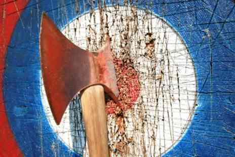 Monster Adventure - One Hour Archery and One Hour Axe Throwing Experience for One, Two or Four - Save 36%