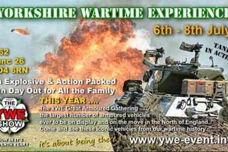Yorkshire Wartime Experience - Ticket to Yorkshire Wartime Experience on 7 or 8 July - Save 37%