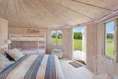 Coastal Cabins - Cosy Glamping Experience in the North Devon Countryside for two - Save 0%