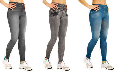 SARL Blue Skys - Three pack of jeggings - Save 72%