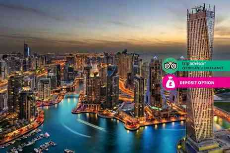 Crystal Travel - Three, five or seven night 5 Star Sheraton Grand Hotel Dubai stay, breakfast and return flights - Save 24%