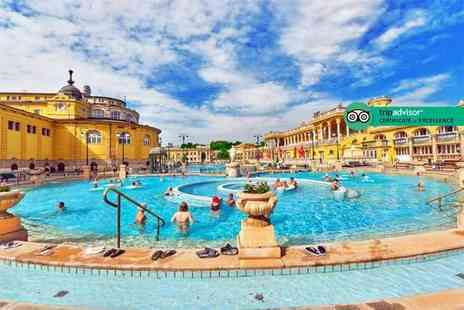 Tour Center - Two or three night 4 Star Budapest break with breakfast, Szechenyi Spa entry and flights - Save 44%