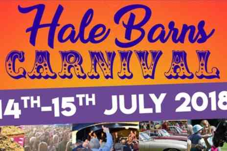 Hale Barns - Regular or VIP Weekend Pass for One, Two or Four to Hale Barns Carnival on 14 To 15 July - Save 54%