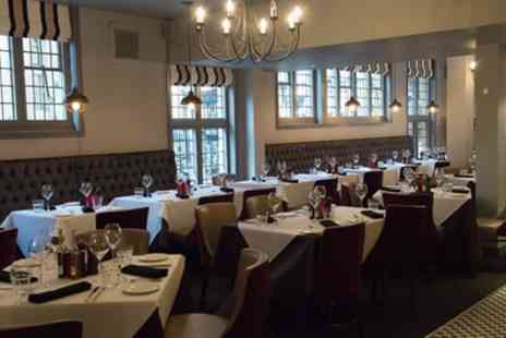 Marcos New York Italian - Two Course Dinner with a Glass of Wine Each for Two - Save 44%