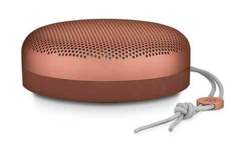 Groupon Goods Global GmbH - Bang & Olufsen Beoplay A1 Bluetooth Speaker With Free Delivery - Save 0%