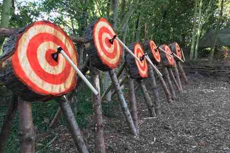 Yorkshire Activity Centre - One or two hour axe throwing experience for one - Save 0%