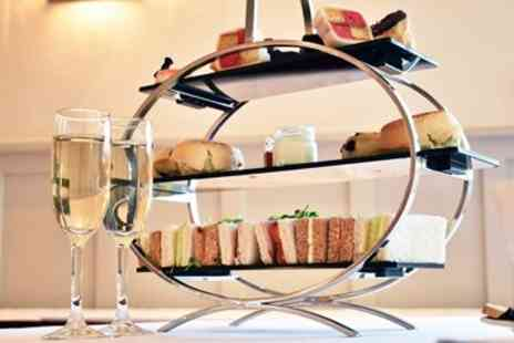 The Hermitage Hotel - Afternoon tea & bubbly for 2 with sea views - Save 35%
