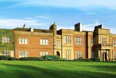De Vere Cranage Estate Hotel - Grade II listed Cheshire stay with meals & tickets - Save 0%