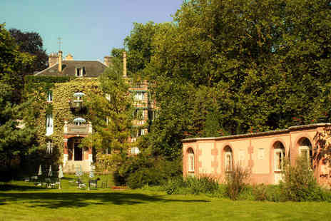 Belle Isle sur Risle - Four Star Idyllic 19th Century French Mansion Stay For Two - Save 40%
