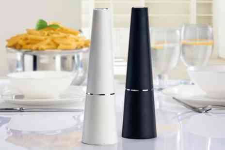 Groupon Goods Global GmbH - Cooks Professional Electric Salt and Pepper Mill Set - Save 70%