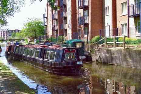 Tameside Canal Boat Trust - Canal Narrowboat Trip for Two or a Family of Four - Save 31%