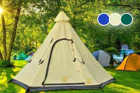 MC California - Six person teepee tent - Save 78%