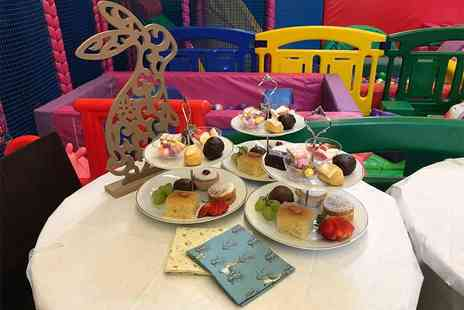 Soft Play Essex Kids Cafe - Peter Rabbit themed afternoon tea for two adults and two children with two hours of soft play - Save 50%