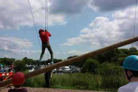 Colwick Park Adventure Centre - 90 Minute High Ropes Experience for Up to Four - Save 0%