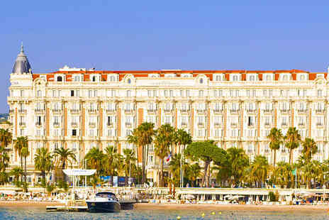 InterContinental Carlton Cannes - Lavish 5 Star Glamour Stay For Two in Cannes - Save 80%