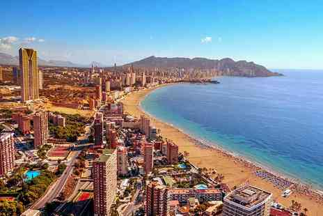 Super Escapes Travel - Three night all inclusive Benidorm break with flights - Save 47%