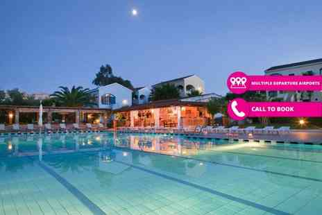 Jetline Holidays - Seven night self catered Corfu villa stay for up to six people including flights - Save 26%