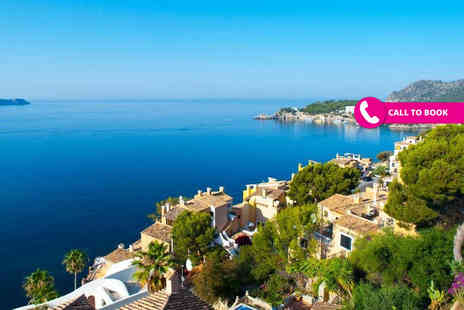 Crystal Travel - Four or Seven night all inclusive beach holiday with return flights - Save 31%