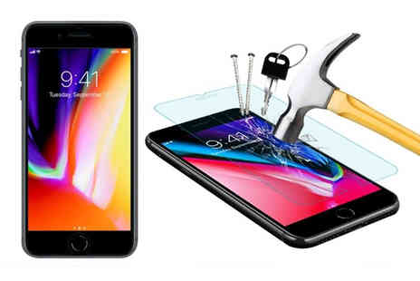 Some More - iPhone tempered glass screen protector - Save 83%