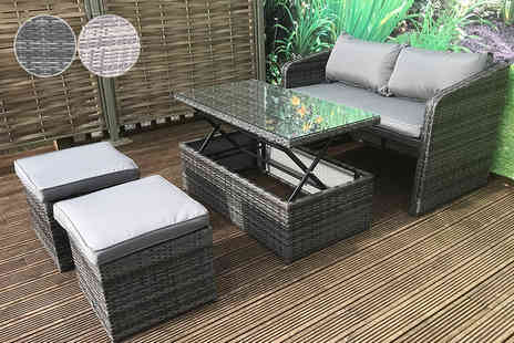 Furniture for Modern Living - Cube balcony sofa set - Save 56%