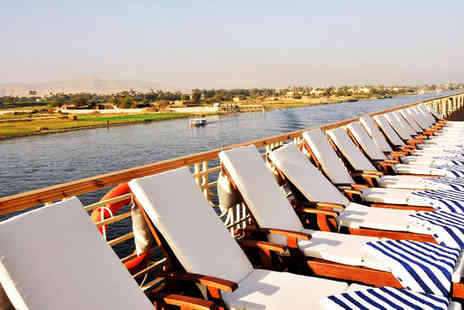 Hilton Hurghada - Five Star Luxury Nile Cruise and All Inclusive Beach Break - Save 58%