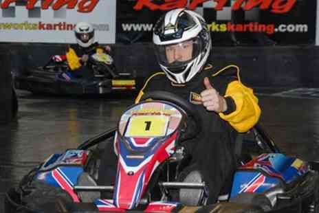 Teamworks Karting - Go Kart and Simulator Racing for One, Two or Four - Save 56%