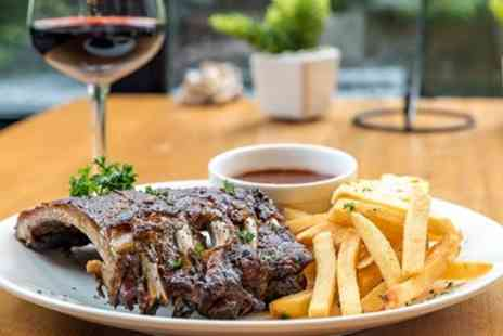 Ostlers at No 1 - Three course dinner for 2 in Worcester - Save 35%