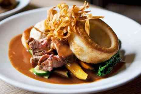 The Angel Hotel - Wilts, Sunday lunch with bubbly for 2 at friendly inn - Save 46%