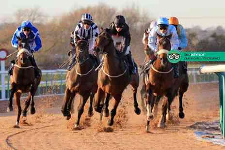 Southwell Racecourse - Day at the races for two adults and up to three children on Sunday 15th July or include a BBQ package of food and drinks - save up to 50% - Save 50%