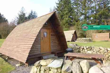 Barnsoul Caravan Park - Two or three night glamping stay for two in an Apex Pod - Save 46%