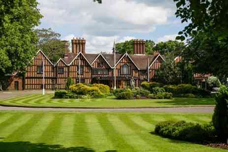 Macdonald Alveston Manor Hotel - Spa day for two people including two Elemis treatments each and afternoon tea - Save 61%