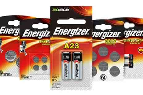 Groupon Goods Global GmbH - Energizer Accessories Batteries - Save 86%