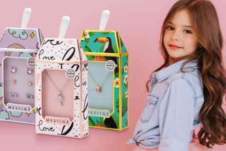 Neverland Sales - Mestige Childrens Jewellery with Crystals from Swarovski With Free Delivery - Save 68%
