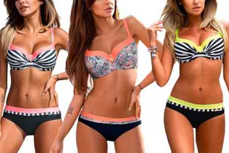 Groupon Goods Global GmbH - PushUp Bikini in Choice of Style - Save 56%