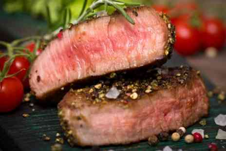 The Legstraps - Steak Meal with a Glass of Prosecco for Up to Four - Save 57%