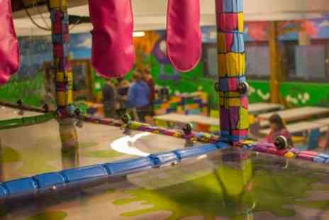 Mini Monsters - Play Area Access for Two Children and Option of Meal for Two Children and Two Adults - Save 55%
