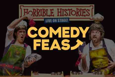 Comedy Feast - Ticket for One or Family of Four to Horrible Histories at Comedy Feast on 10 June - Save 38%
