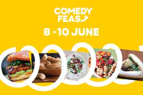 Comedy Feast - All weekend castle and feast access at Comedy Feast for one on 8 To10 June - Save 45%